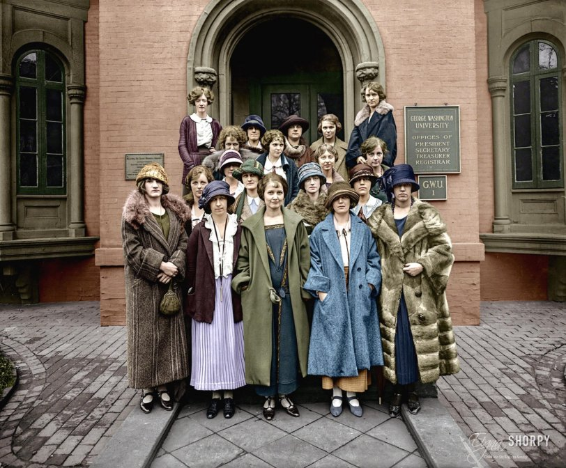 University Women (Colorized): 1924