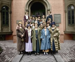 University Women (Colorized): 1924
