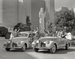 Aquacade Motorcade: 1940
