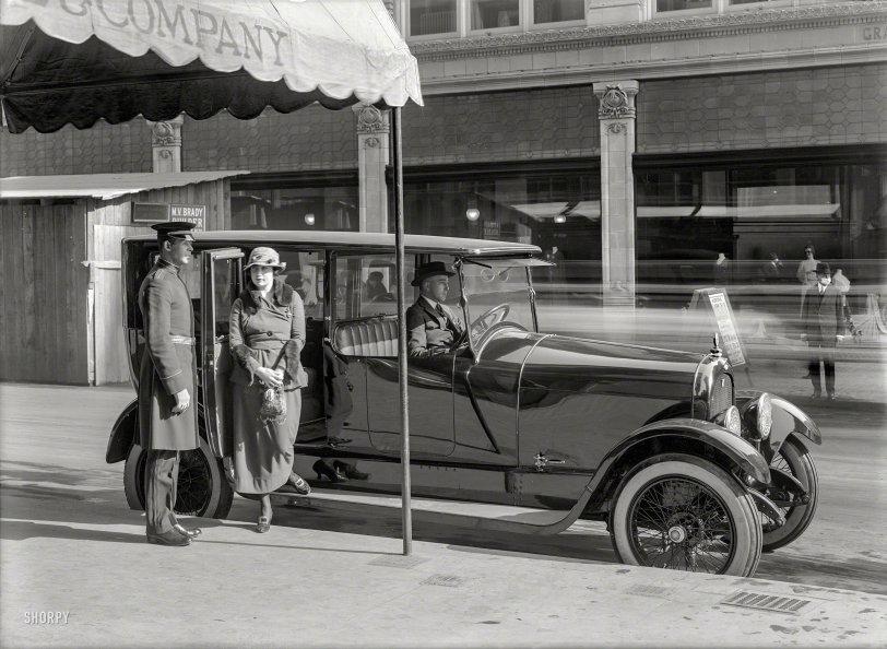 Death's Doorman: 1919