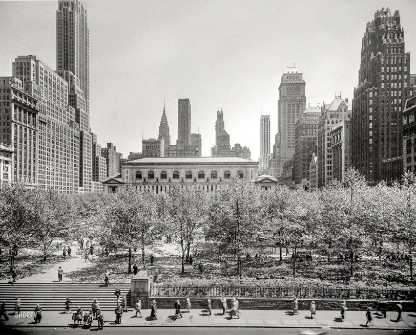 Bryant Park: 1948