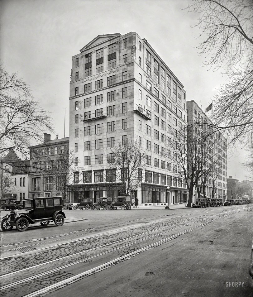 The Hill Building: 1926