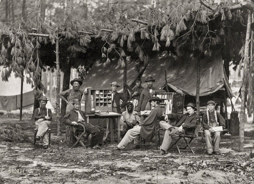 Ambulance Camp: 1864