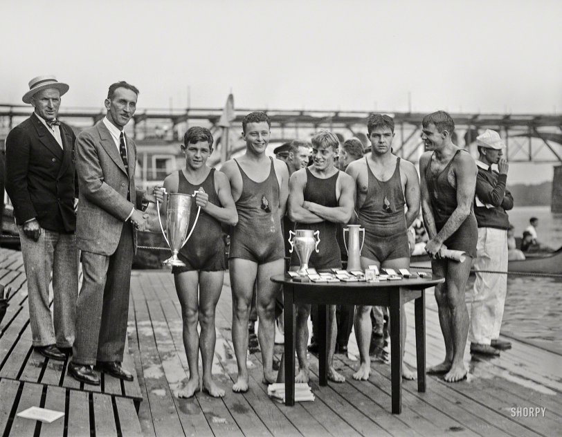 Winning Swimmers: 1927
