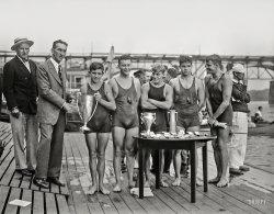 Winning Swimmers: 1927