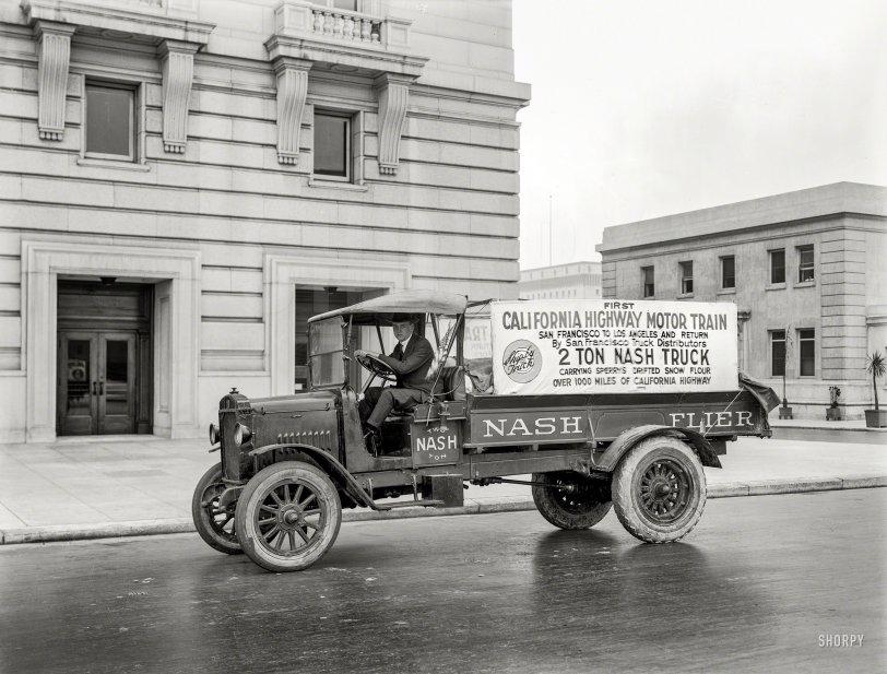 Nash Flier: 1919
