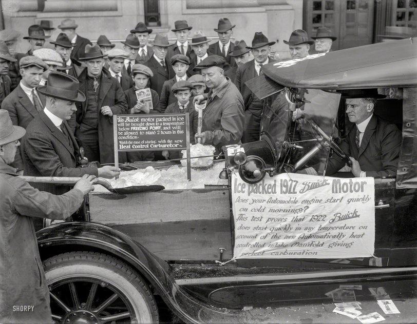 Icebox Buick: 1922