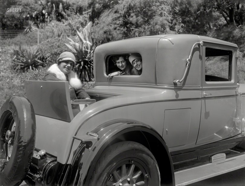Three Babes and a Buick: 1926