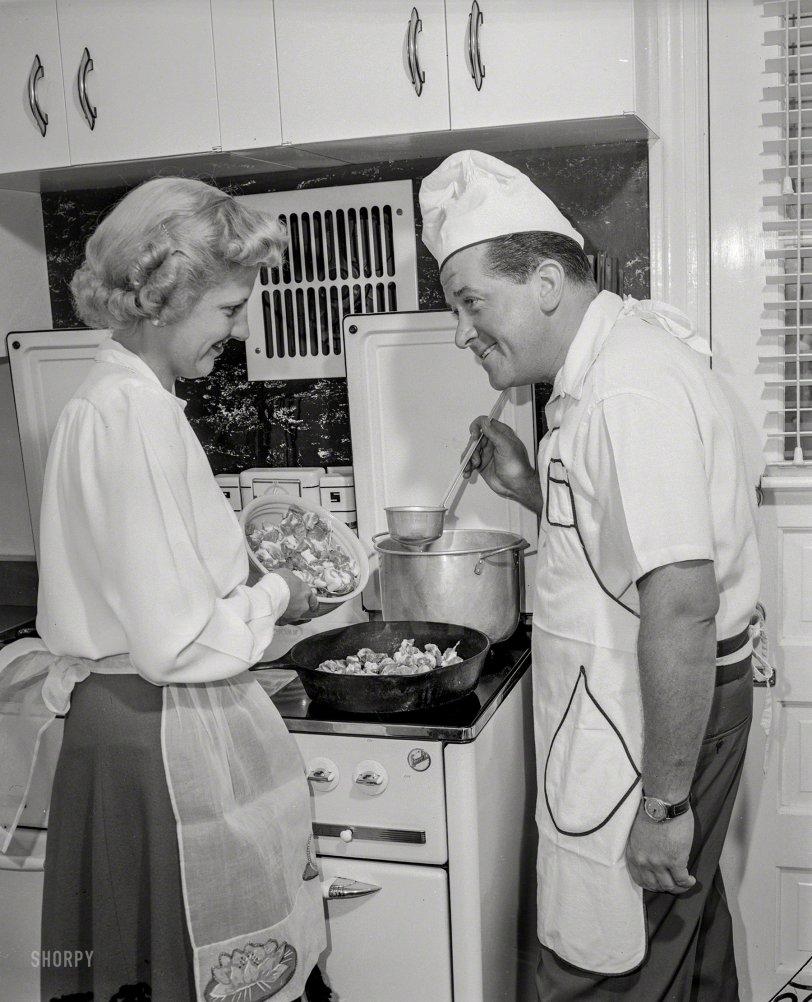 Skillet Dinner: 1950s