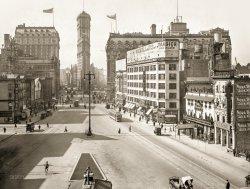 Longacre Square: 1911