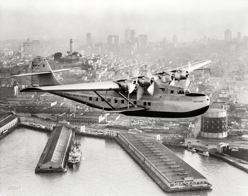 China Clipper: 1936
