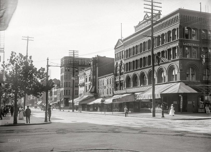 La Fétra's Hotel: 1901