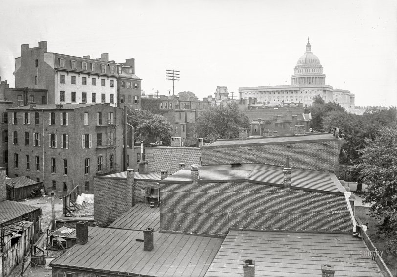 Rooftops of Washington: 1901