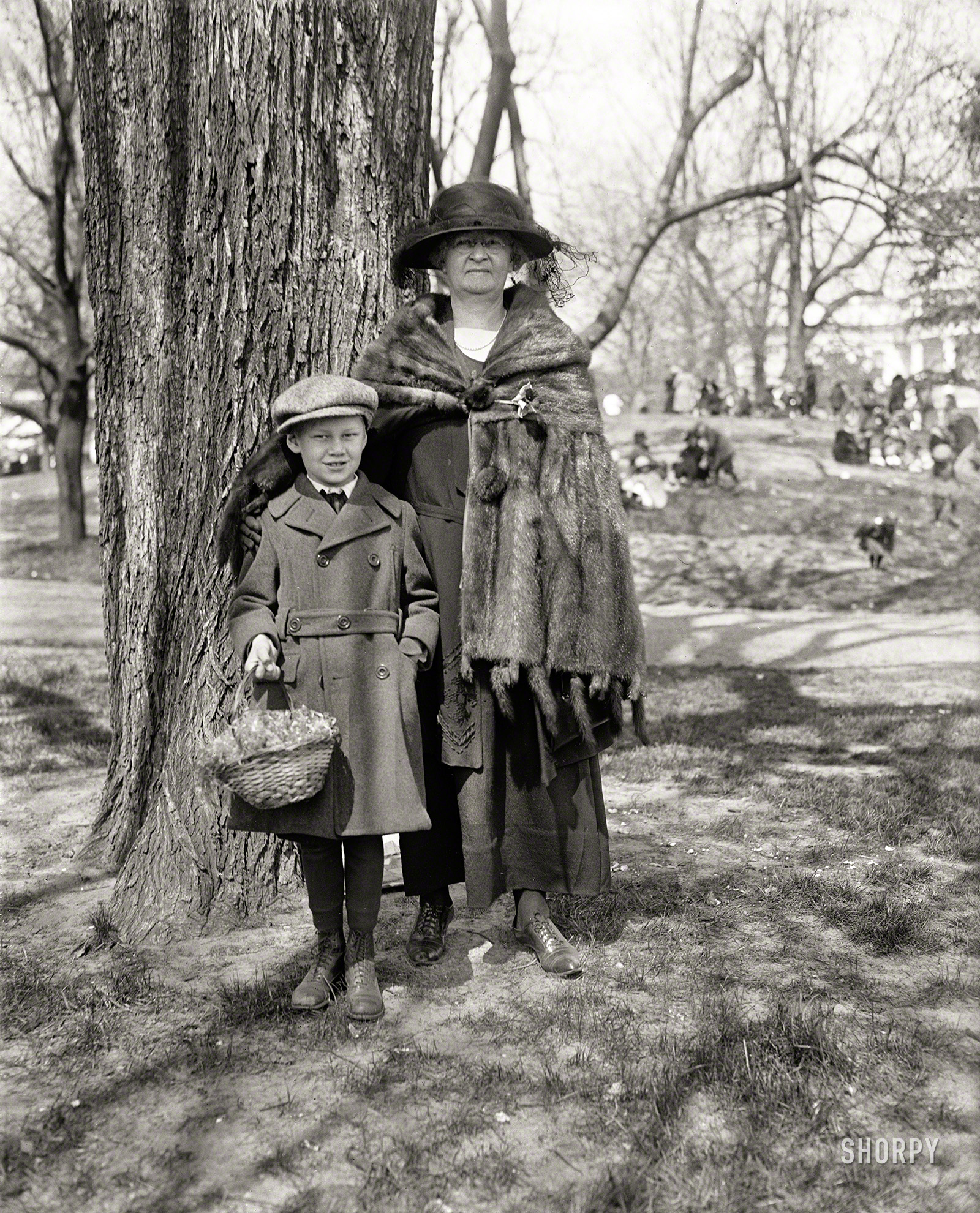 Shorpy historic picture archive easter peeps 1923 high for What is the easter bunny s phone number