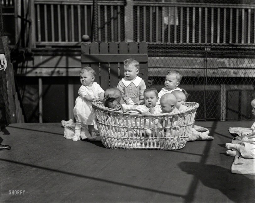 Babes in a Basket: 1923