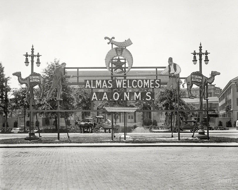 Salumu Aleikum: 1923