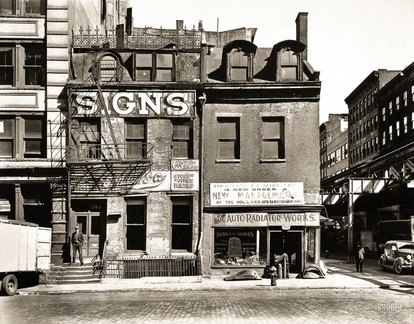 Signs: 1935