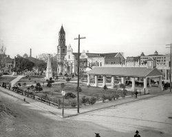 Plaza de la Constitucion: 1897