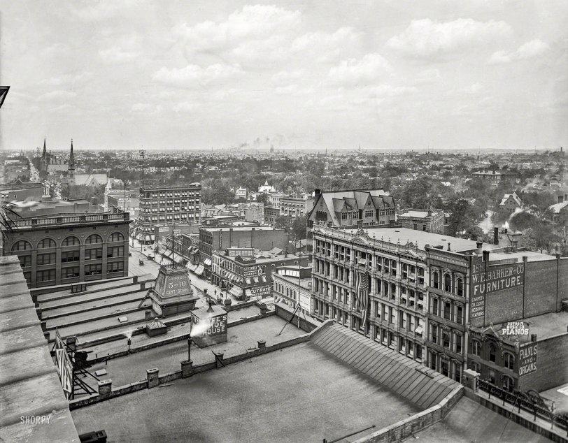 Rooftop Detroit: 1899