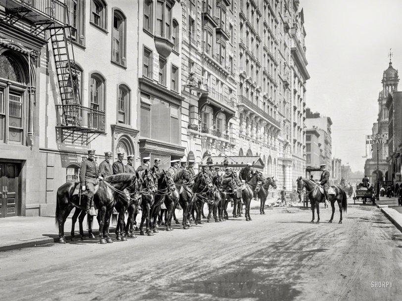 Police Parade: 1905