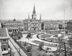 Jackson Square: 1905