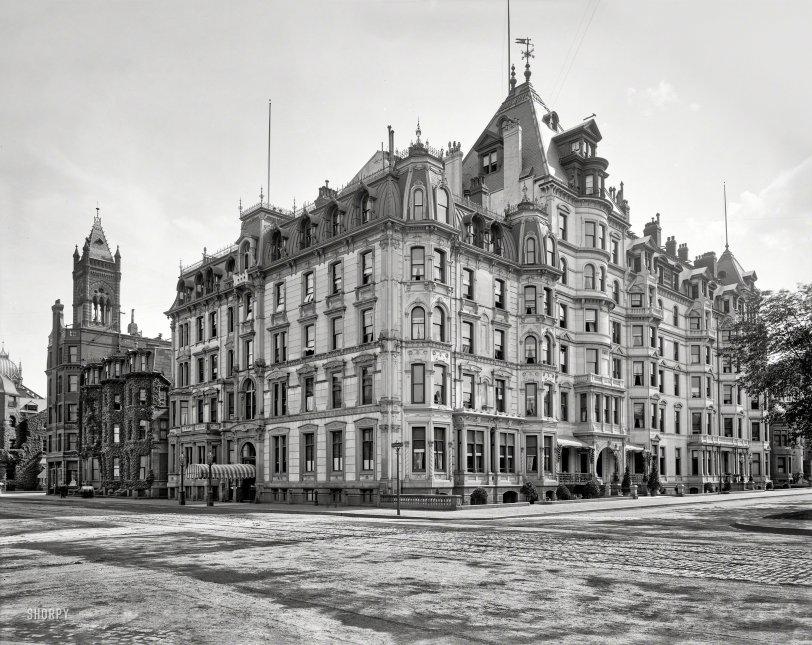 Hotel Vendome: 1900