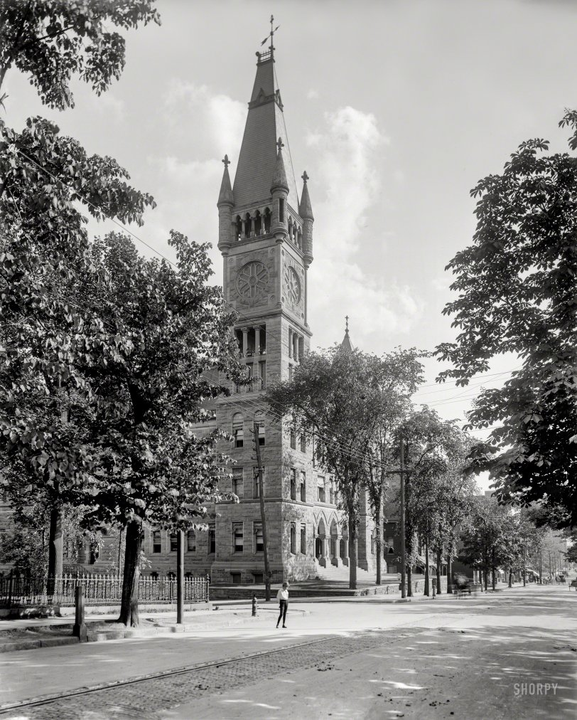 Scranton City Hall: 1901
