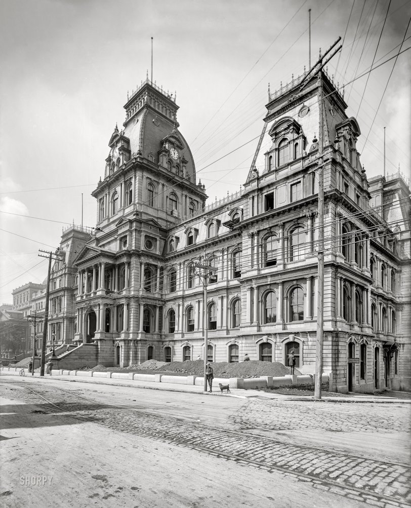 Hôtel de Ville: 1900