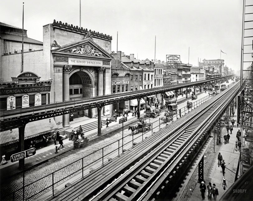 All Along the El: 1900