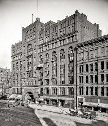 Arcade Pants Parlors: 1900