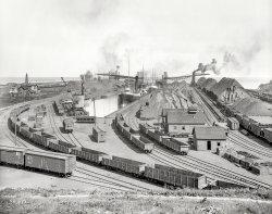 Iron Ore on Erie: 1900