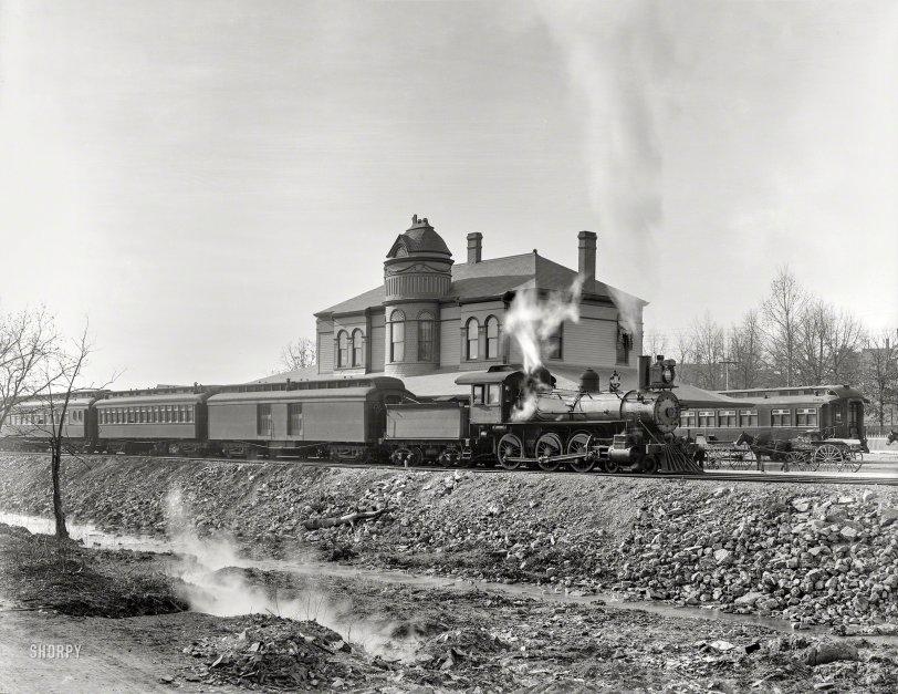 Hot Springs Depot: 1900