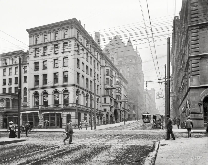 Third and Vine: 1900