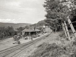 Fleischmanns Depot: 1902