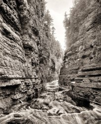 Ausable Chasm: 1906