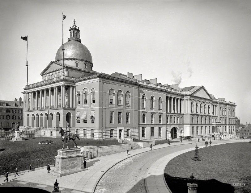 Boston State House: 1904