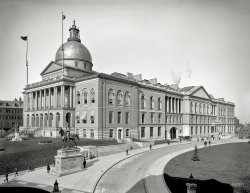 Boston State House: 1904