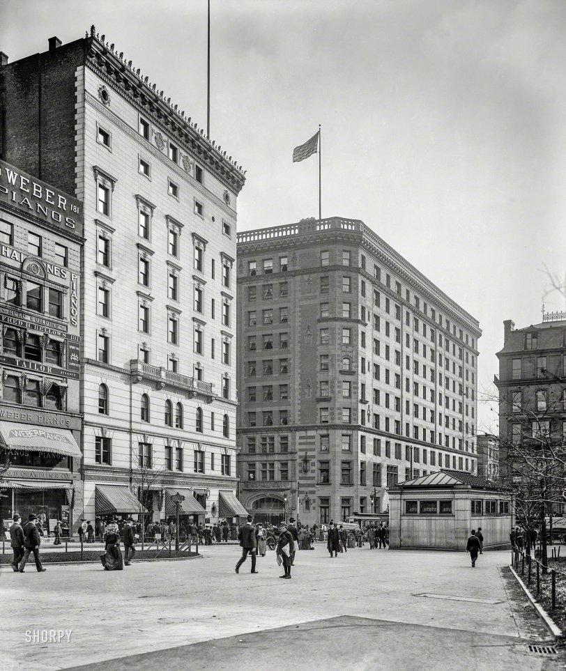 Lafayette Mall: 1904