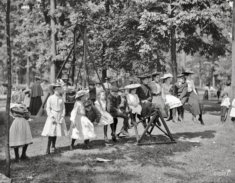 Teeter-Totter Attire: 1903