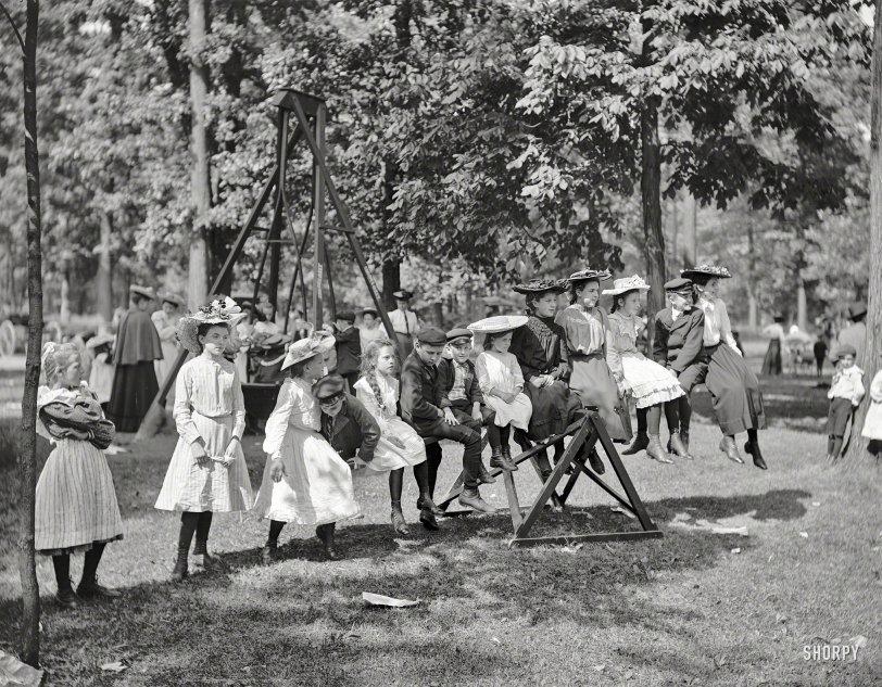 Teeter-Totter Attire: 1903