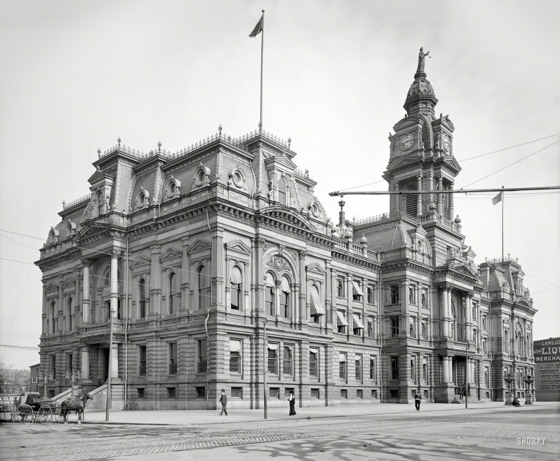 Columbus Courthouse: 1904