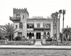 Villa Zorayda: 1904