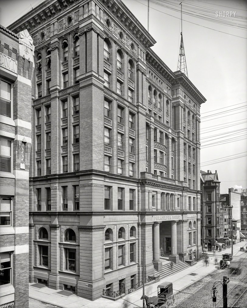 Philadelphia Bourse: 1904
