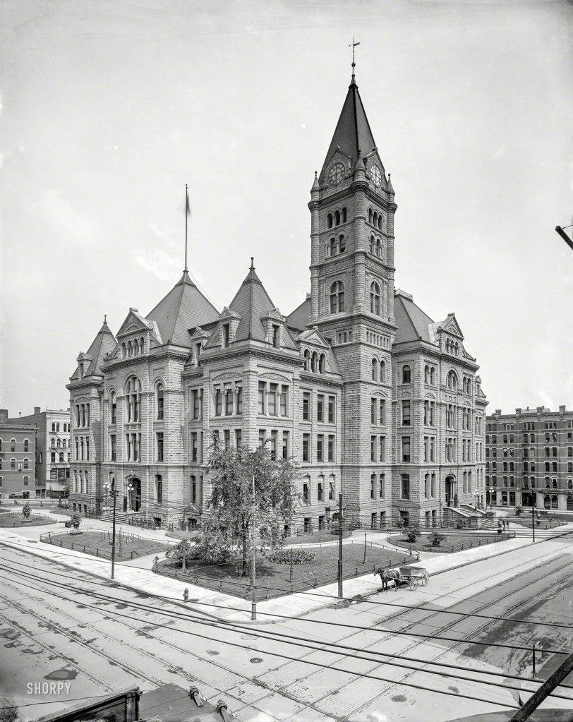 St. Paul City Hall: 1905