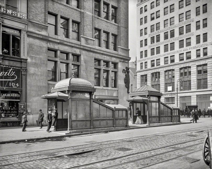 Subway Uptown: 1905