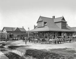 Pocono Depot: 1905