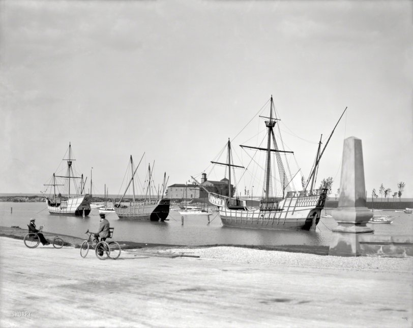 Columbian Caravels: 1905