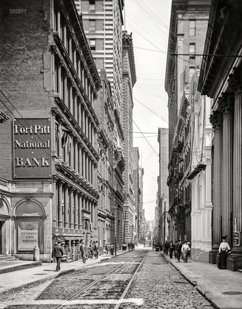 Bankers' Row: 1905