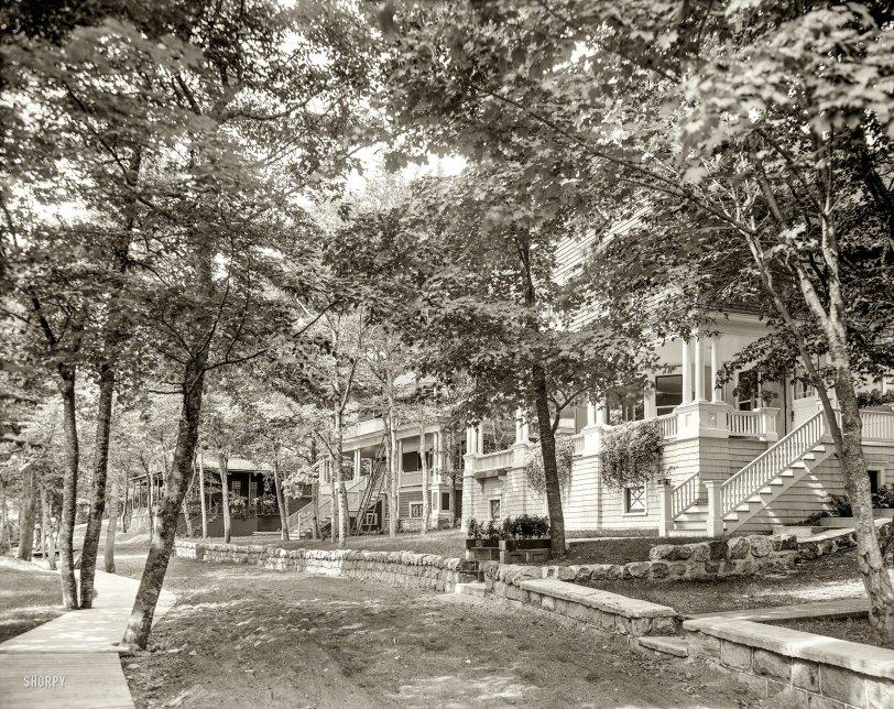 Leafy Enclave: 1906