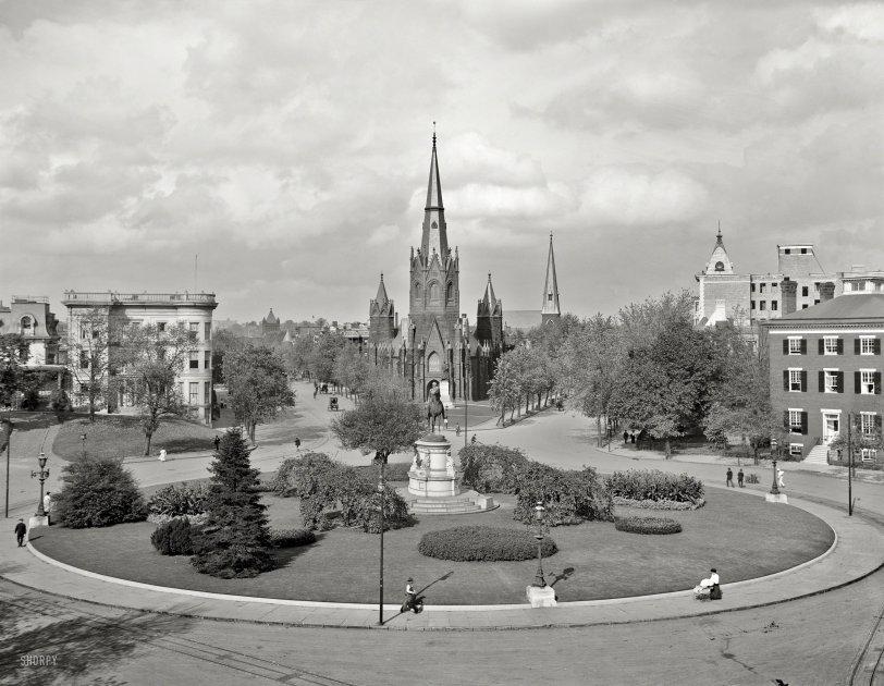 Thomas Circle: 1906